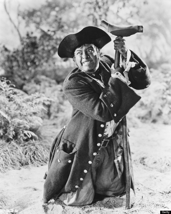 robert newton long john silver