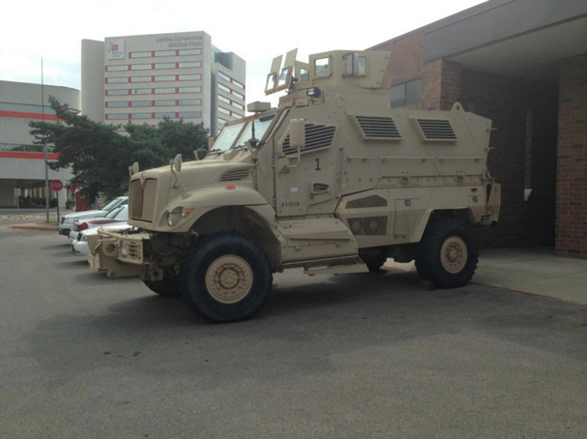 Ohio State University Acquires Military-Style Armored Truck (PHOTO ...