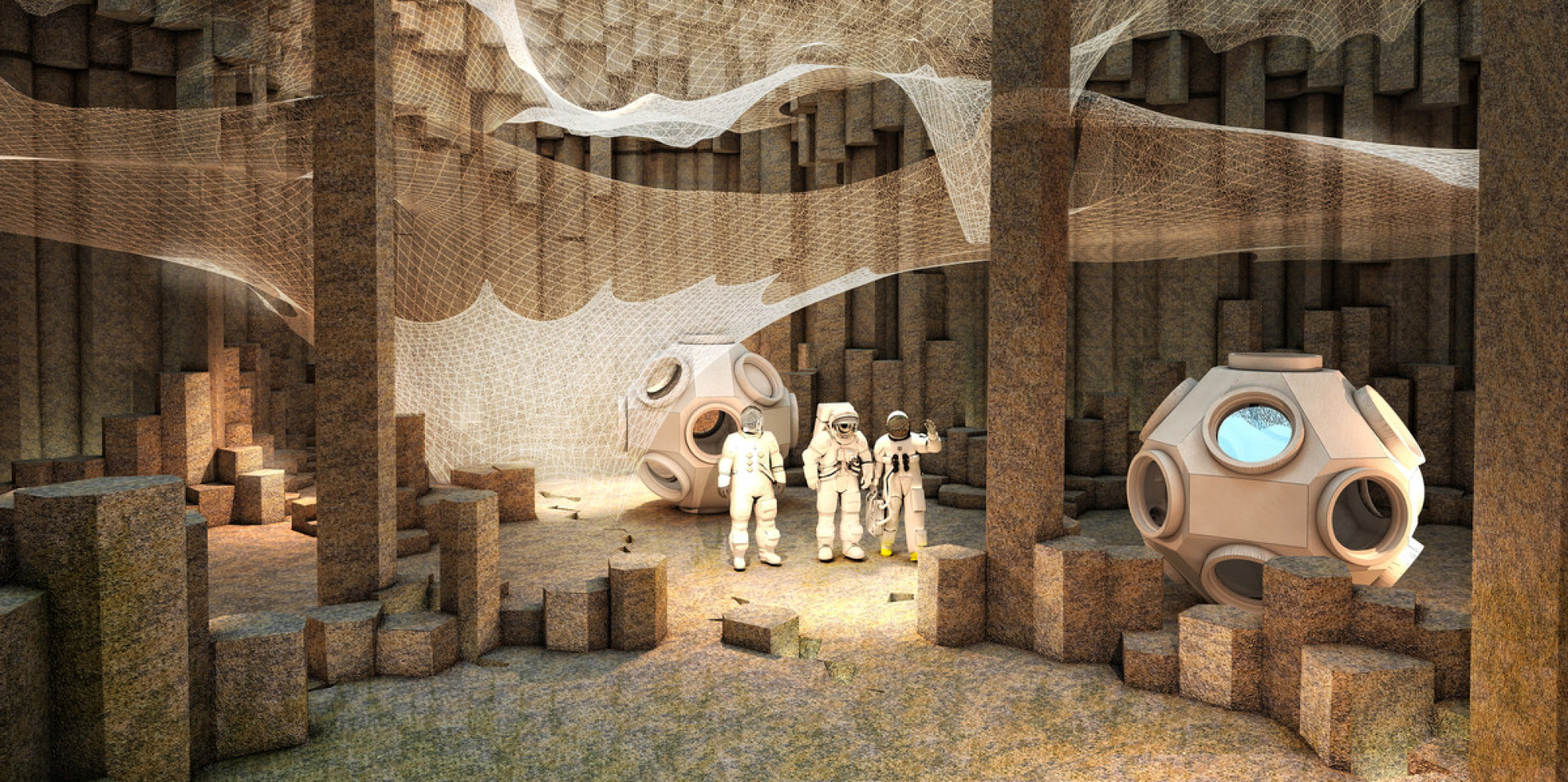 Your House On Mars Would Be Built By Robots And Made Of Stone  In Case You Were Wondering