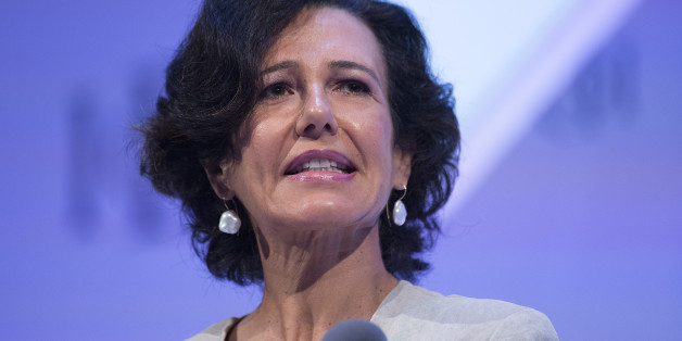 Ana Botin, chief executive officer of Santander U.K. Plc, speaks at the Institute of Directors annual conference at Royal Albert Hall in London, U.K., on Wednesday, Sept, 18, 2013. Britain's economy grew at the fastest rate in more than three years in the three months through August, according to an estimate from the National Institute of Economic and Social Research. Photographer: Simon Dawson/Bloomberg via Getty Images