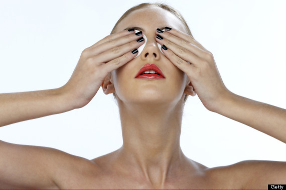makeup woman wash