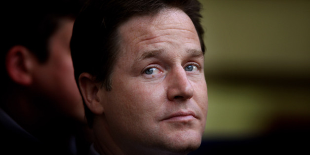 LibDem leader Nick Clegg said the banks were 'in order'