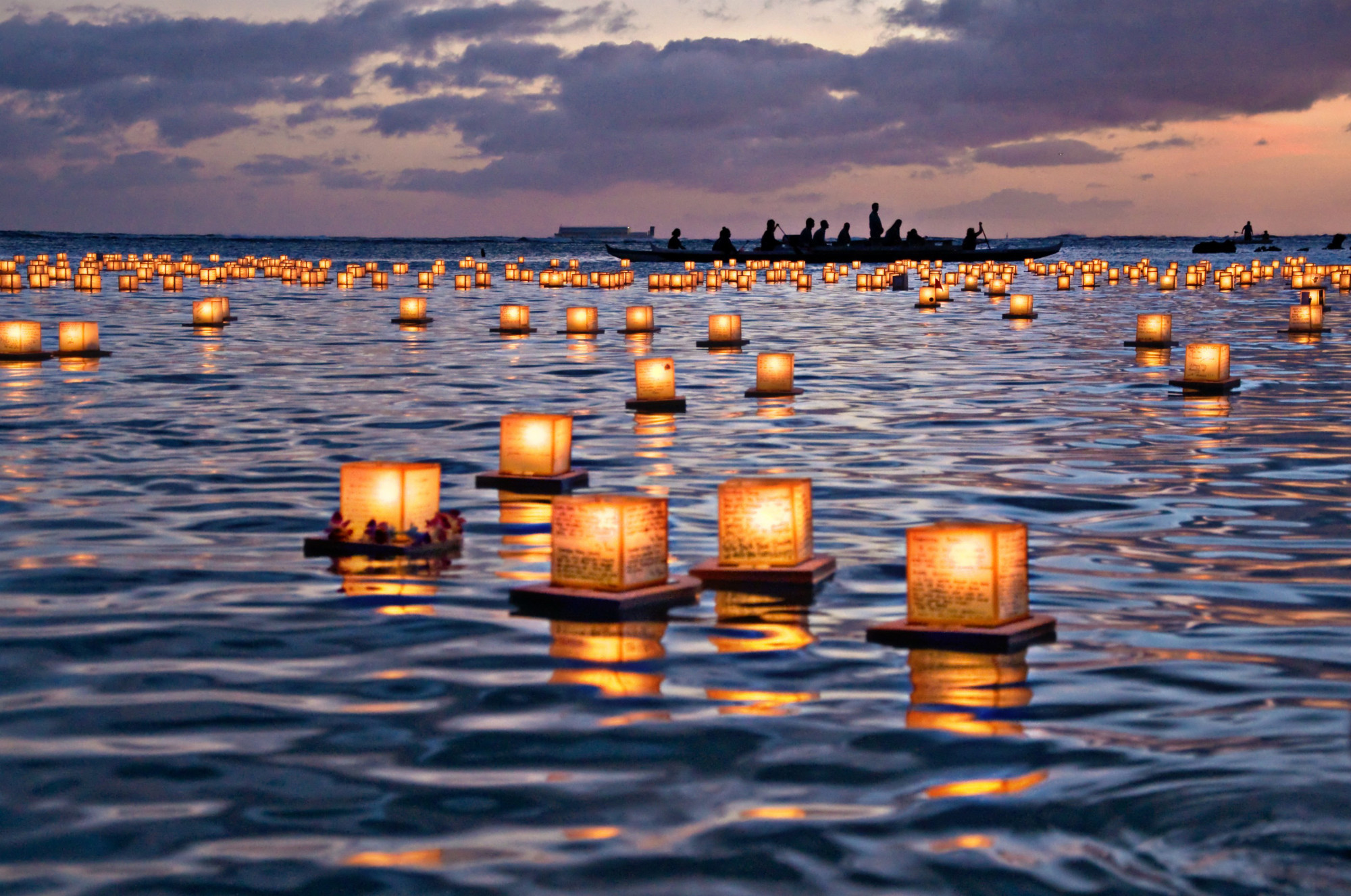 Sending a Message of Peace to the World: Fire, Water, and the Power ... for Sky Lanterns Over Water  83fiz
