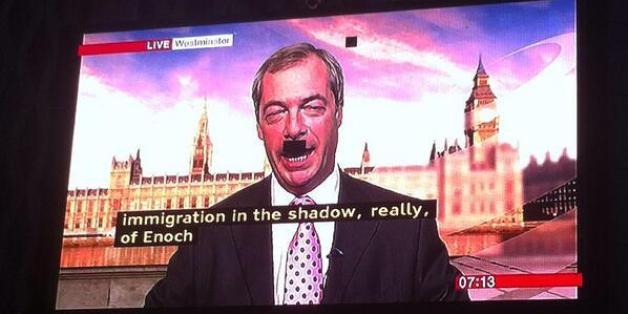 Farage's pixel problem