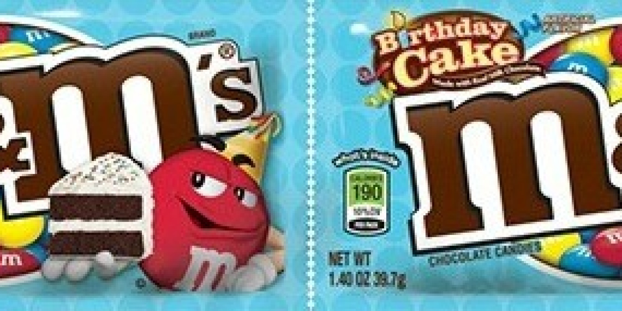 Birthday CakeFlavored MMs Are Finally A Thing HuffPost - M and ms birthday cake
