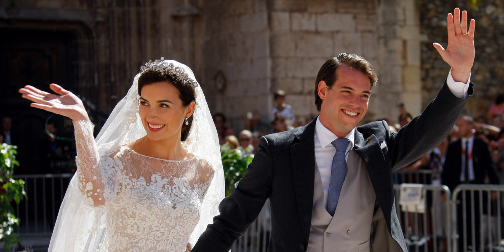Luxembourg Royal Wedding Prince Felix Claire Lademacher Have Second Ceremony PHOTOS