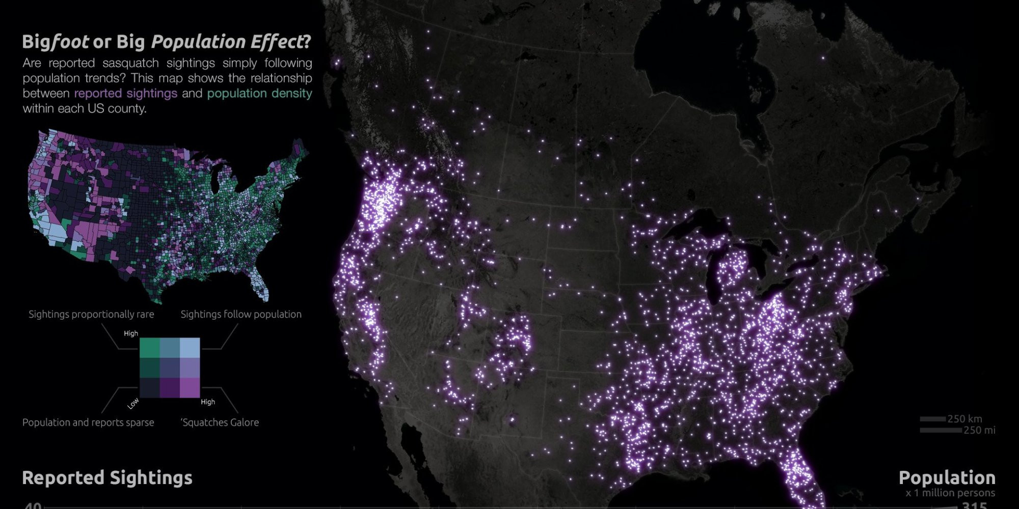 o-SASQUATCH-SIGHTINGS-MAP-facebook Bigfoot Map Of Usa on on a graph how many people believe in bigfoot, usa map of texas, usa map of pacific northwest,