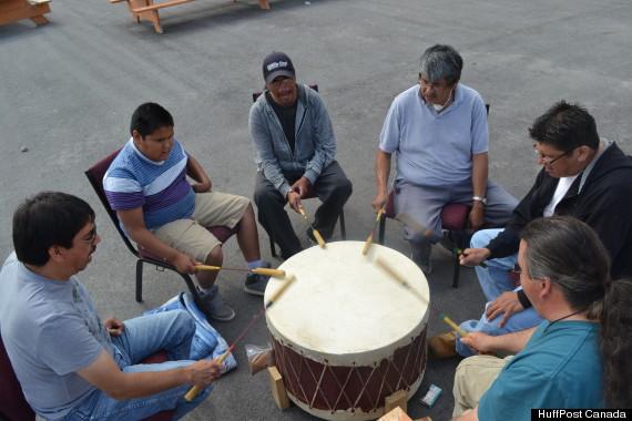 long lake drumming circle