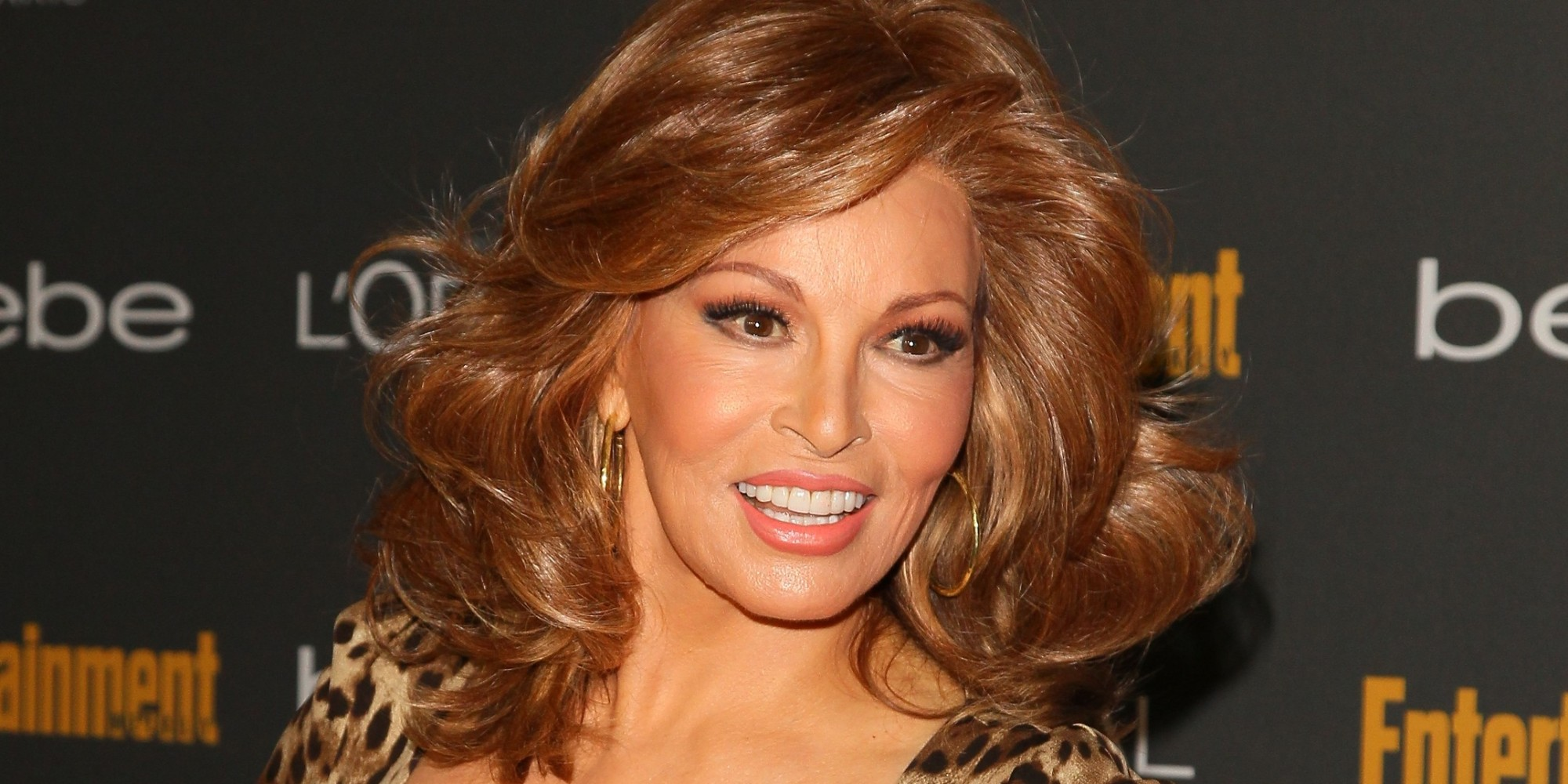 Raquel Welch, 73, Looks Half Her Age At Pre-Emmys Party In
