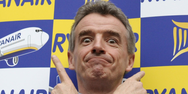 Ryanair CEO Michael O'Leary poses for photographers (Getty Images)