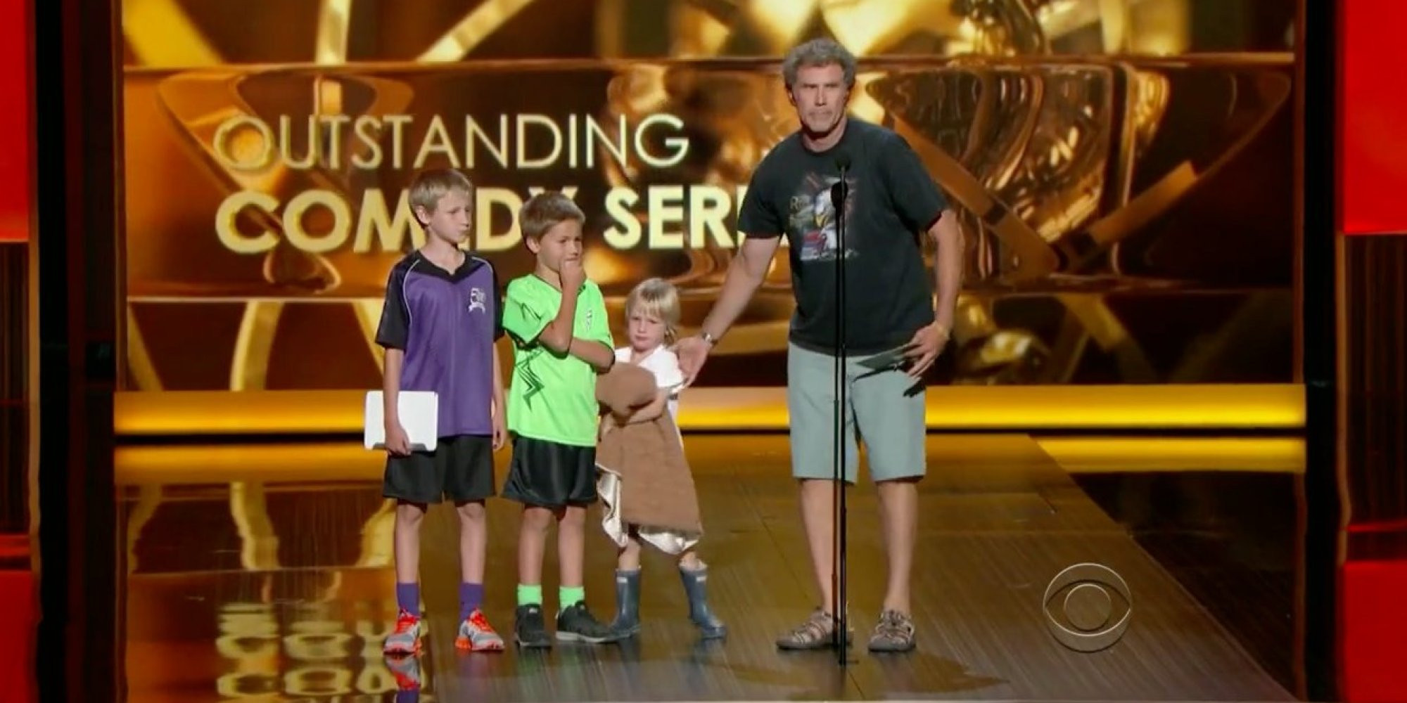 Will Ferrell Kids Emmys Will Ferrell Saves The...