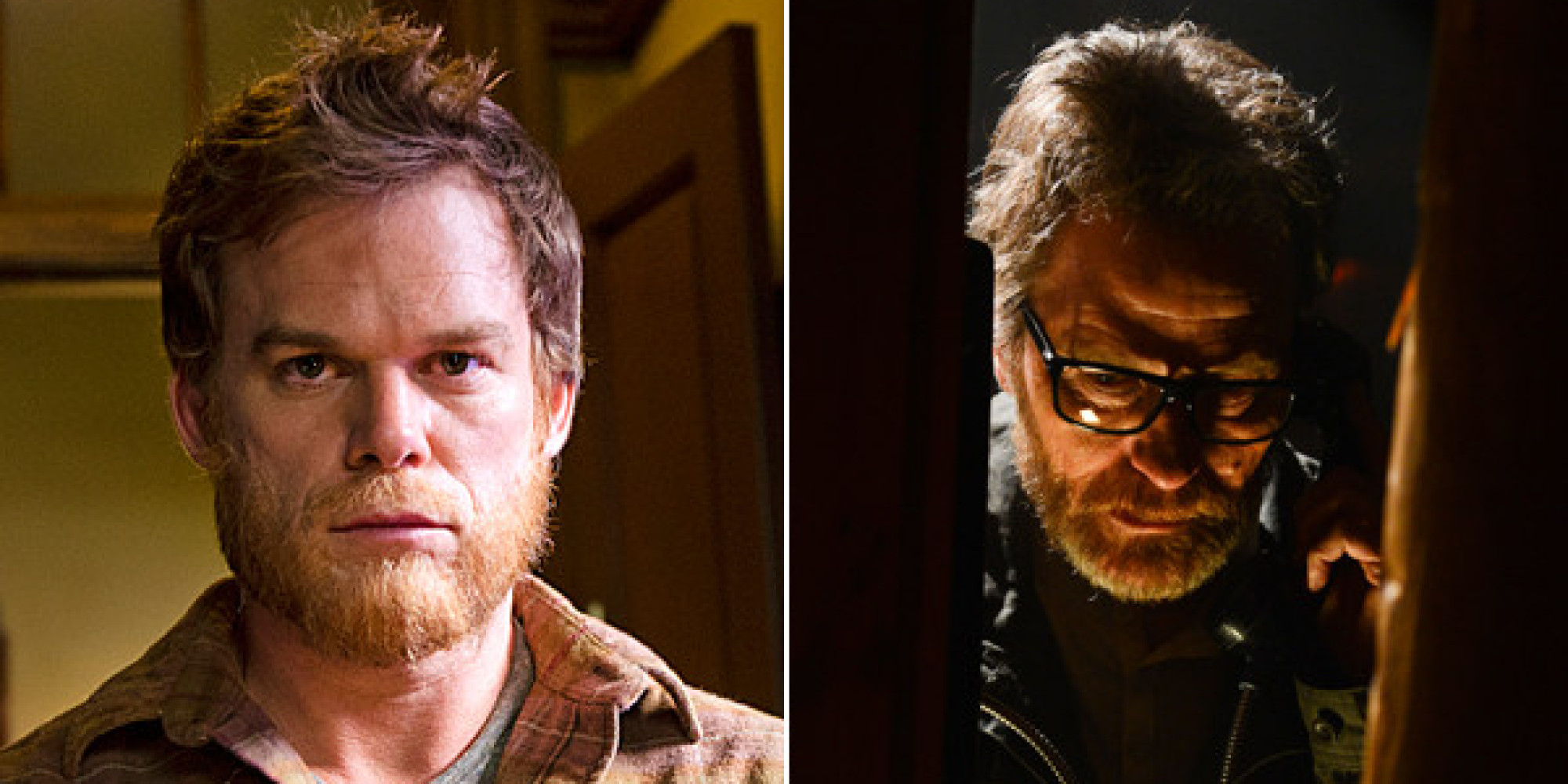 This Photo Of Bearded Dexter Morgan And Walter White Says
