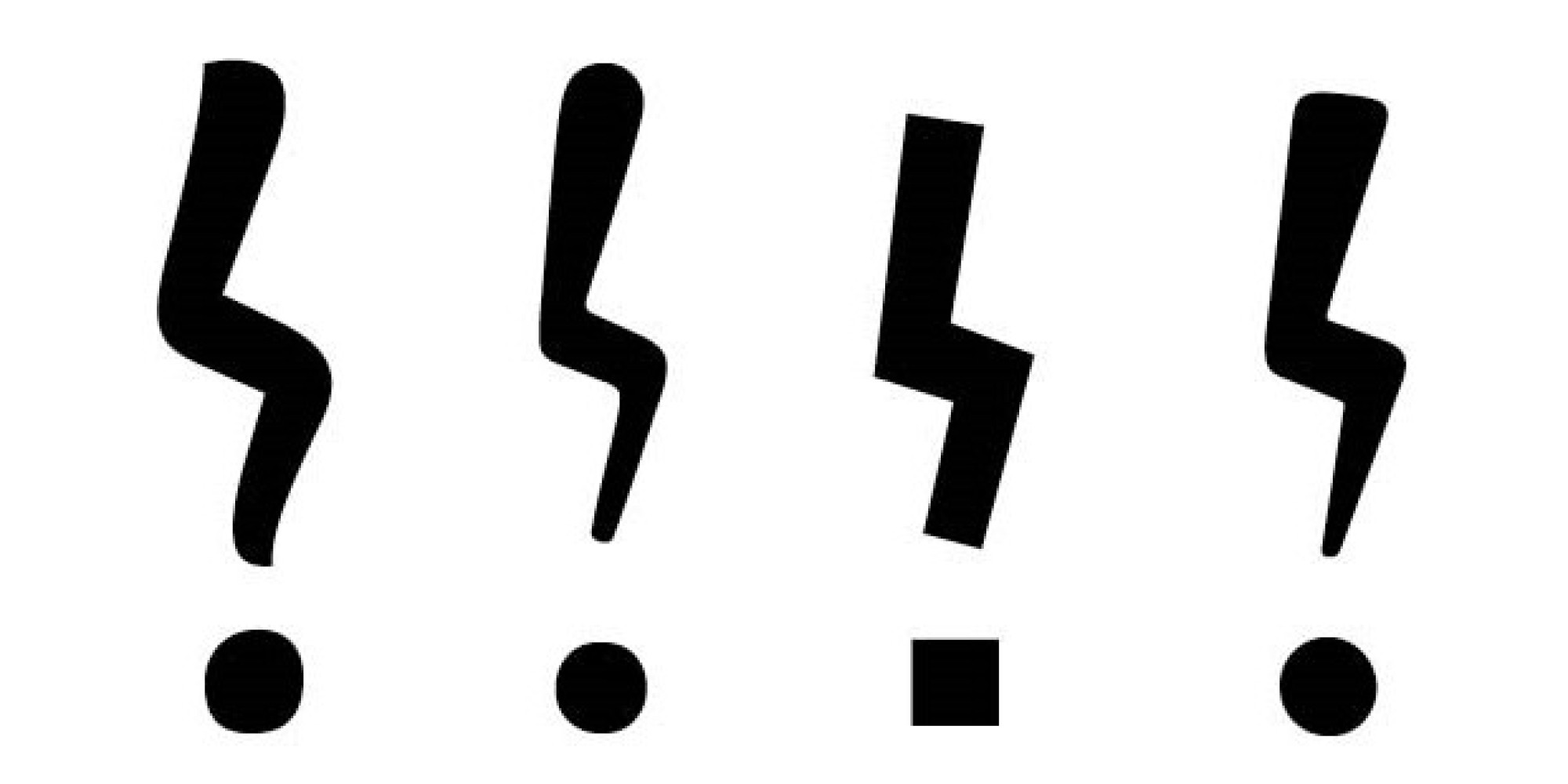 8 Punctuation Marks That Are No Longer Used Huffpost
