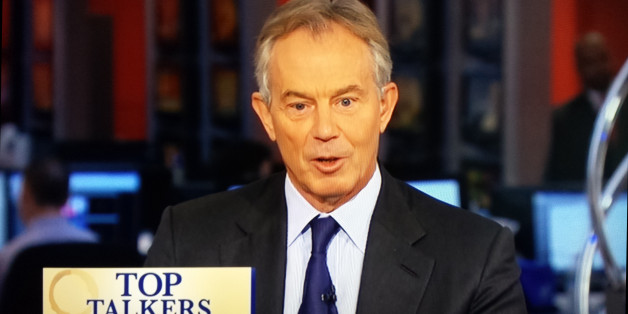 Blair said it remains vital the US and UK 'stick together'