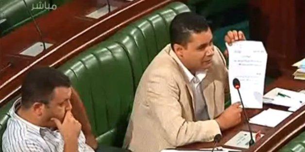 Azed Badi, député Wafa à l'Assemblée nationale constituante le mardi 24 septembre 2013