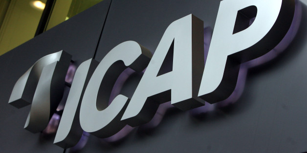 UNITED KINGDOM - NOVEMBER 20:  The company logo is displayed outside the ICAP offices in London, U.K., on Tuesday, Nov. 20, 2007. ICAP Plc, the biggest broker of transactions between lenders, has no ``concrete timetable'' for a U.S. alternative to the London interbank offered rate as it seeks to sign up banks.  (Photo by Chris Ratcliffe/Bloomberg via Getty Images)