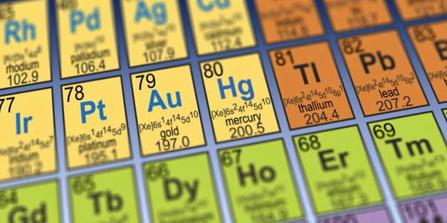 Atomic Weights Changed For Gold 18 Other Chemical Elements Huffpost