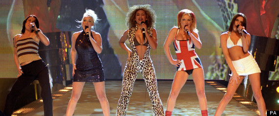spice girls brit awards 90s
