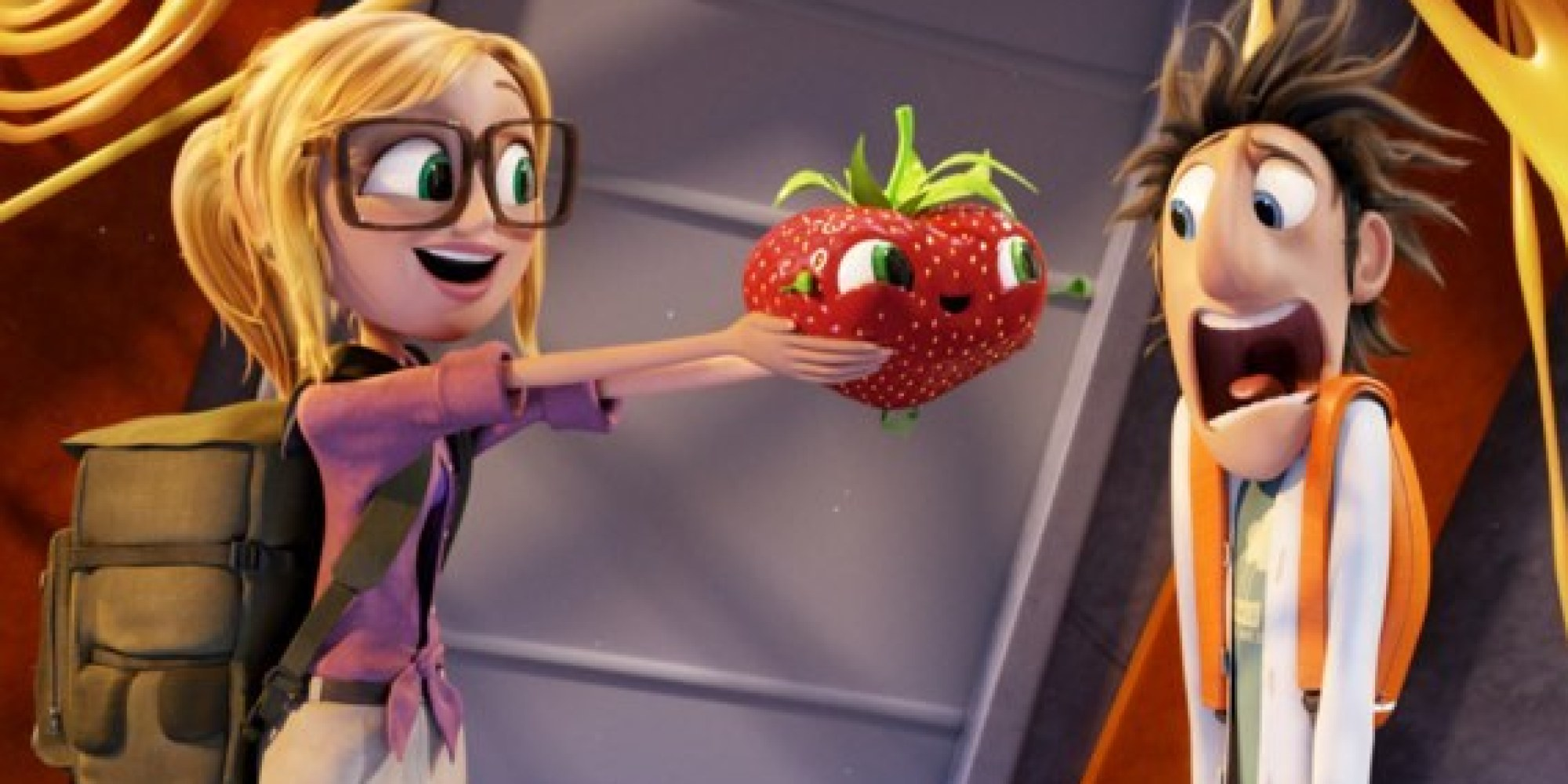 Cloudy With A Chance Of Meatballs 2\': Just How Many Food Puns Are ...