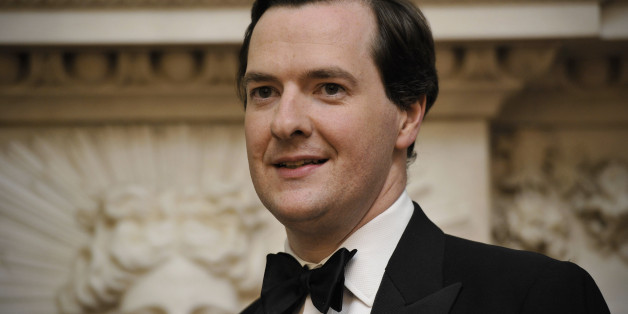 British Chancellor of the Exchequer George Osborne attends the Lord Mayor's dinner to the Bankers and Merchants of the City of London at Mansion House in London, on June 16, 2010. AFP PHOTO / CARL COURT (Photo credit should read Carl Court/AFP/Getty Images)