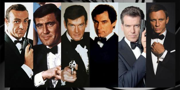 Les différents interprètes de James Bond