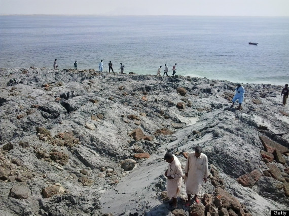 pakistan island earthquake