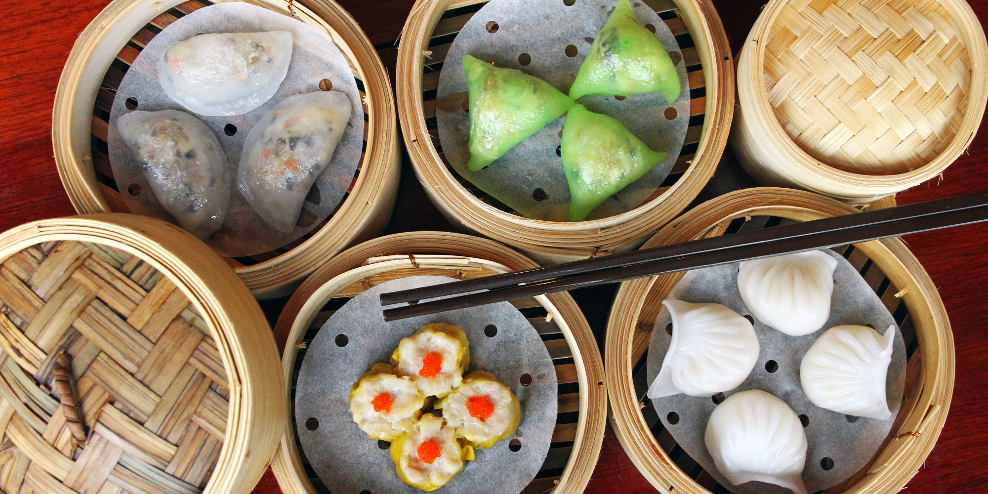 dim sum guide be ready when the carts roll by photos huffpost. Black Bedroom Furniture Sets. Home Design Ideas