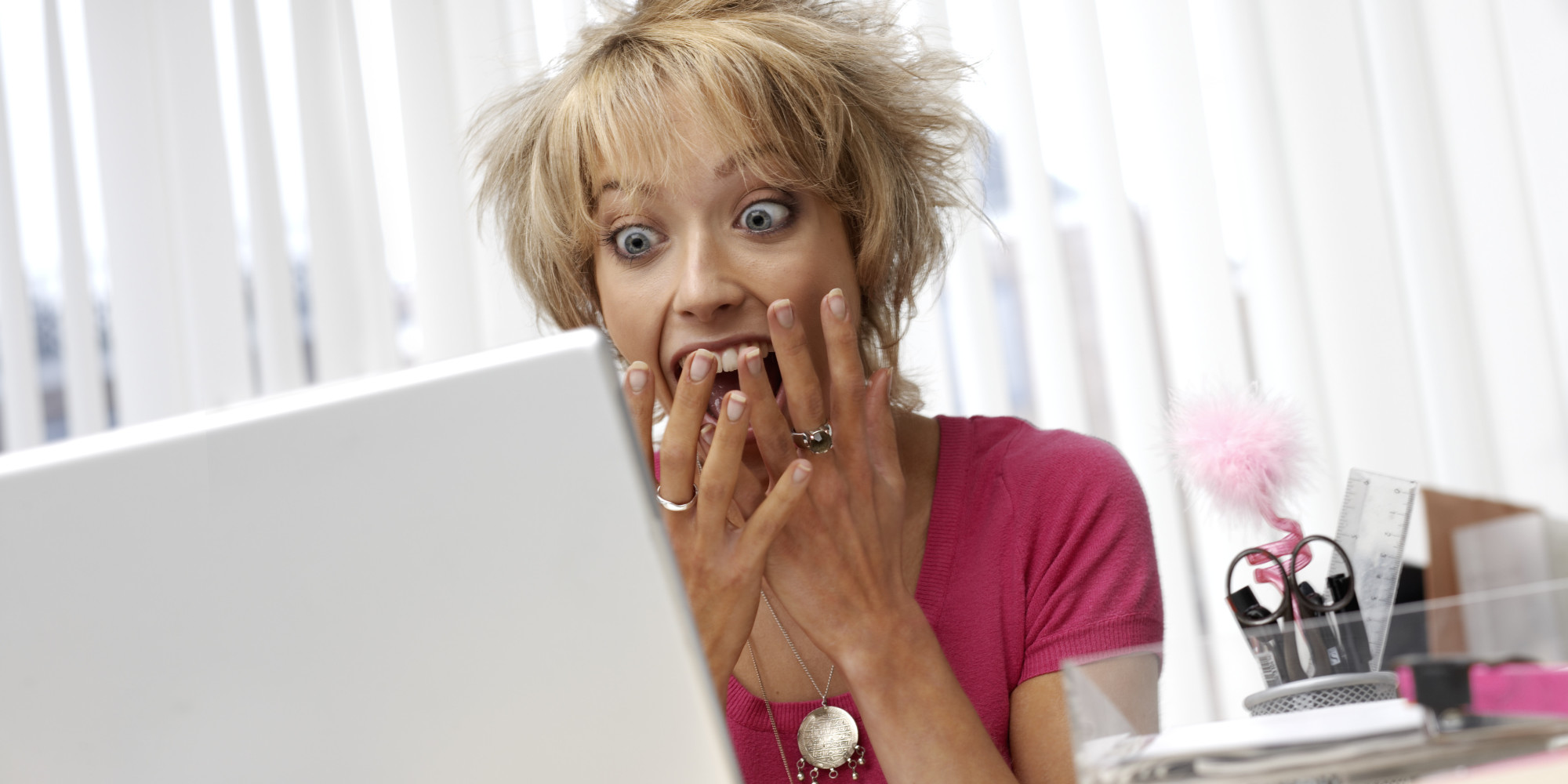 Image result for older women looking at computer