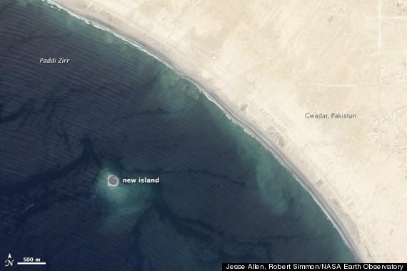 new island pakistan
