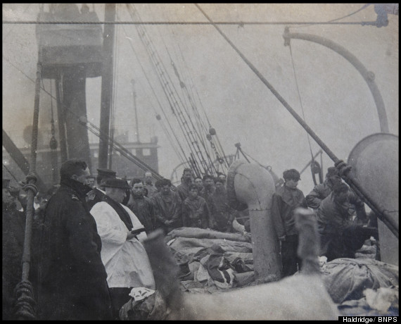 titanic sea burials