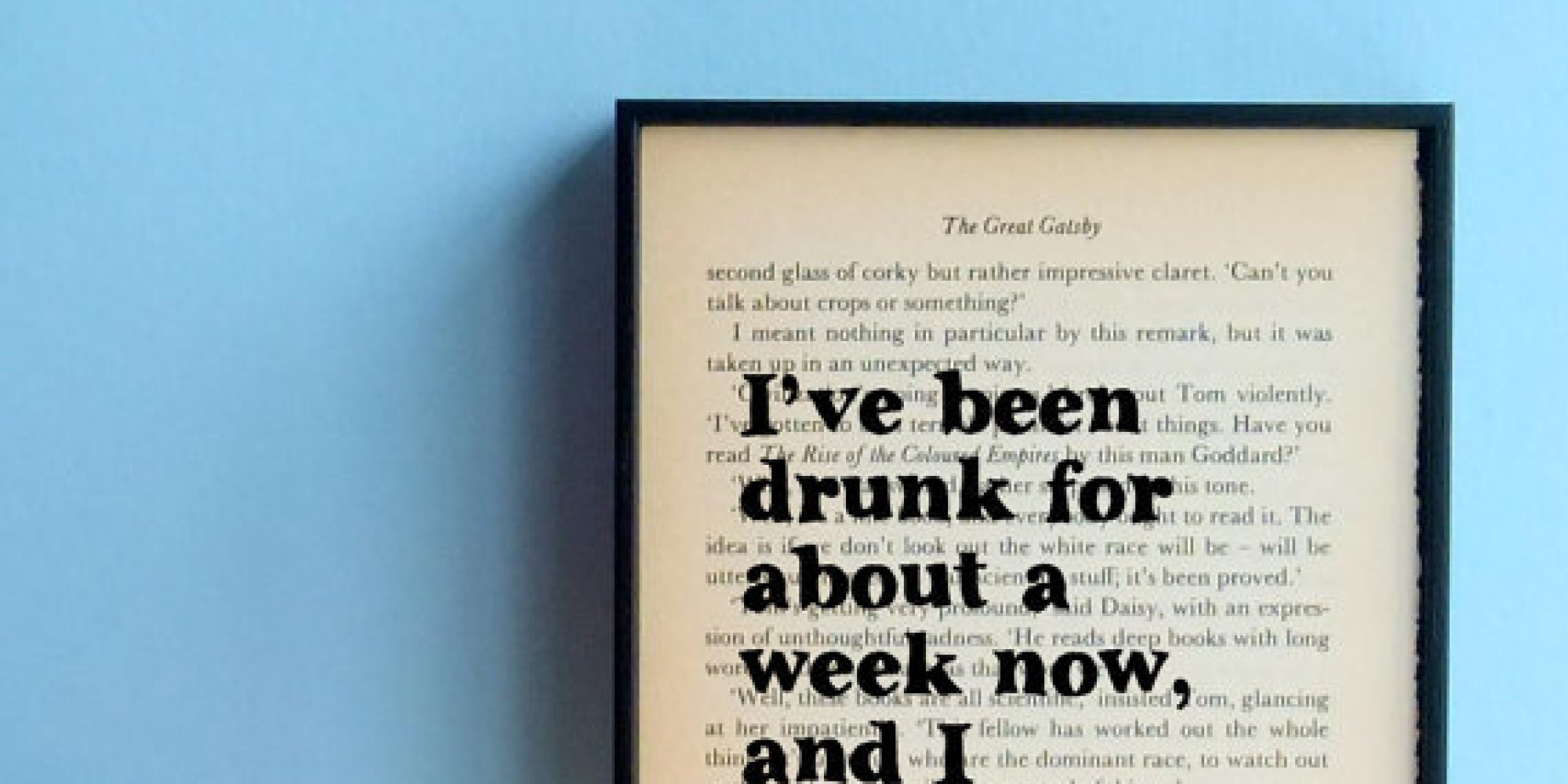 Poster Quotes About Life 11 Literary Quote Posters  Huffpost