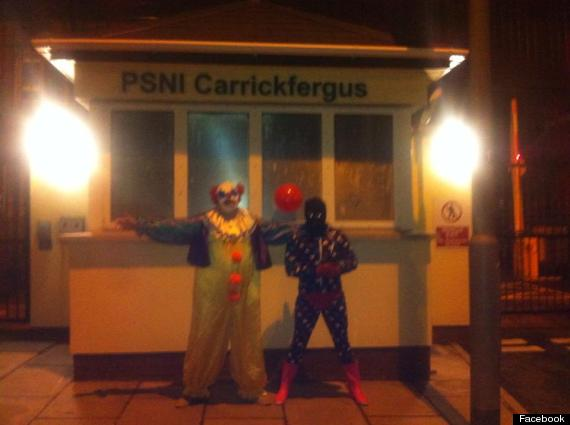 carrickfergus killer clown