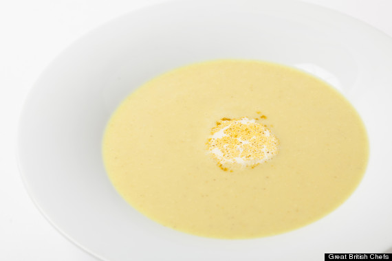 adam gray parsnip soup