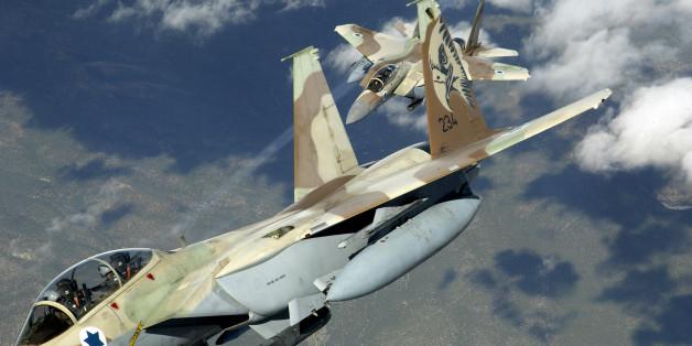 Deux appareils de l'aviation israélienne