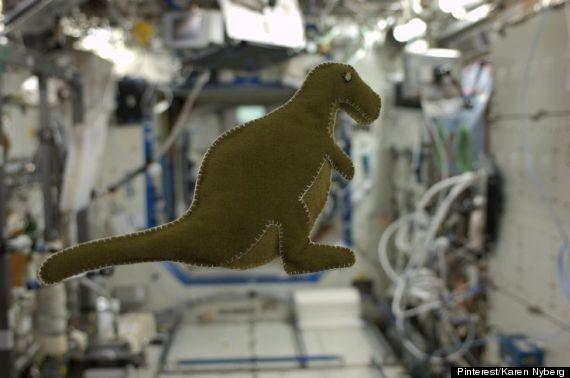 karen nyberg dinosaur toy