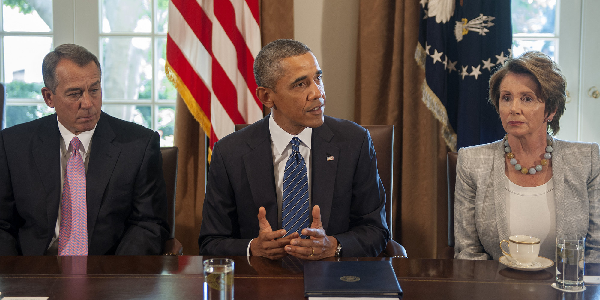 Obama to hold shutdown meeting with congressional leaders huffpost m4hsunfo Image collections