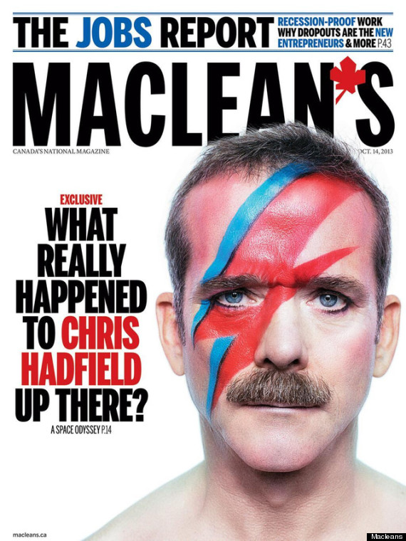 chris hadfield macleans cover