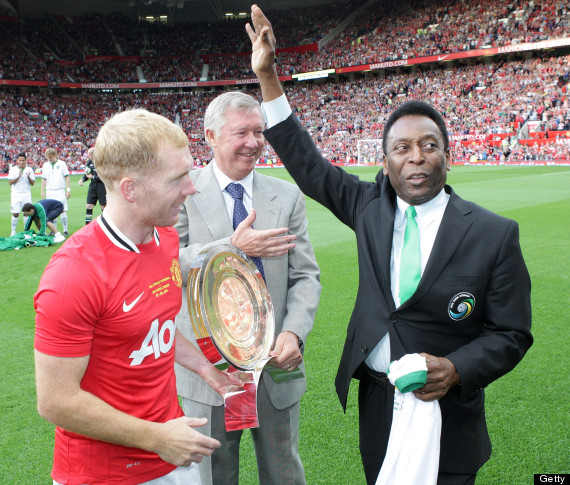 sir alex ferguson pele