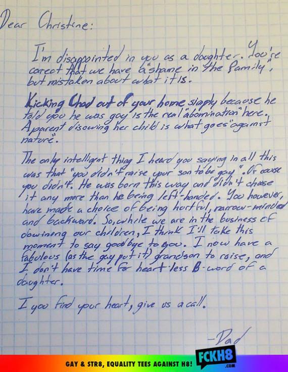 homosexualité lettre