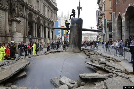 submarine art milan