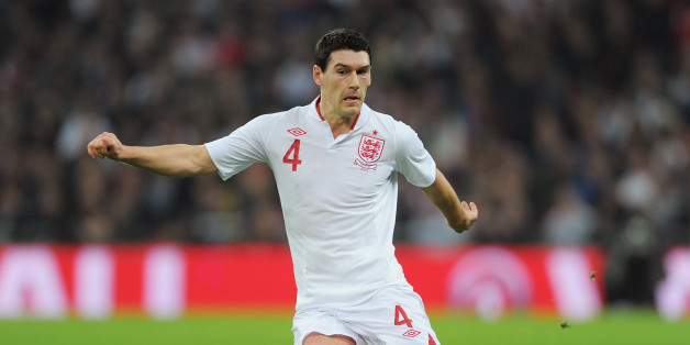LONDON, ENGLAND - FEBRUARY 29:  Gareth Barry of England in action during the International Friendly match between England and the Netherlands at Wembley Stadium on February 29, 2012 in London, England.  (Photo by Michael Regan - The FA/The FA via Getty Images)