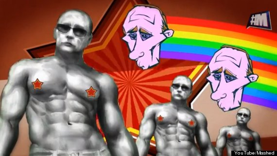 putins gay adventures