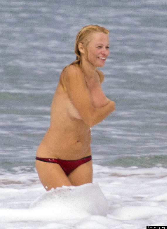 Pamela anderson on nude beach opinion