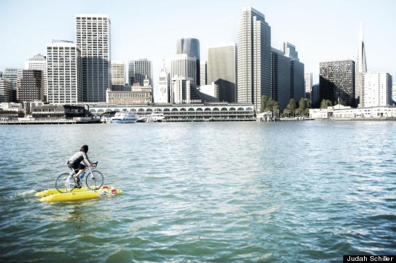 water bike sf