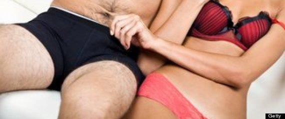 couple in underwear