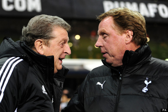 harry redknapp roy hodgson