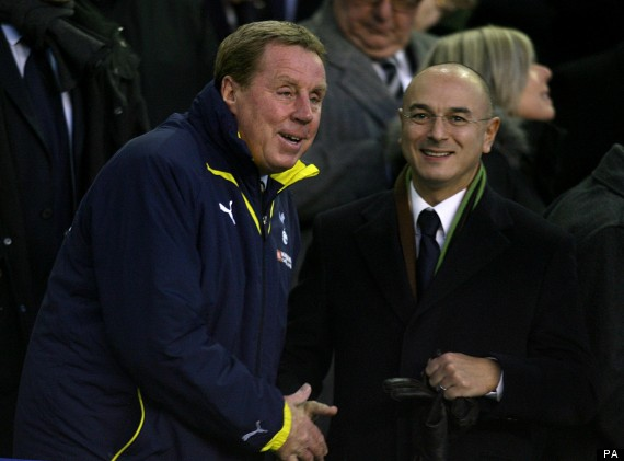 harry redknapp daniel levy