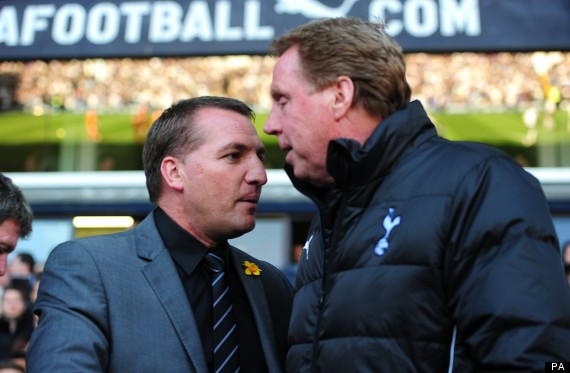 harry redknapp brendan rodgers