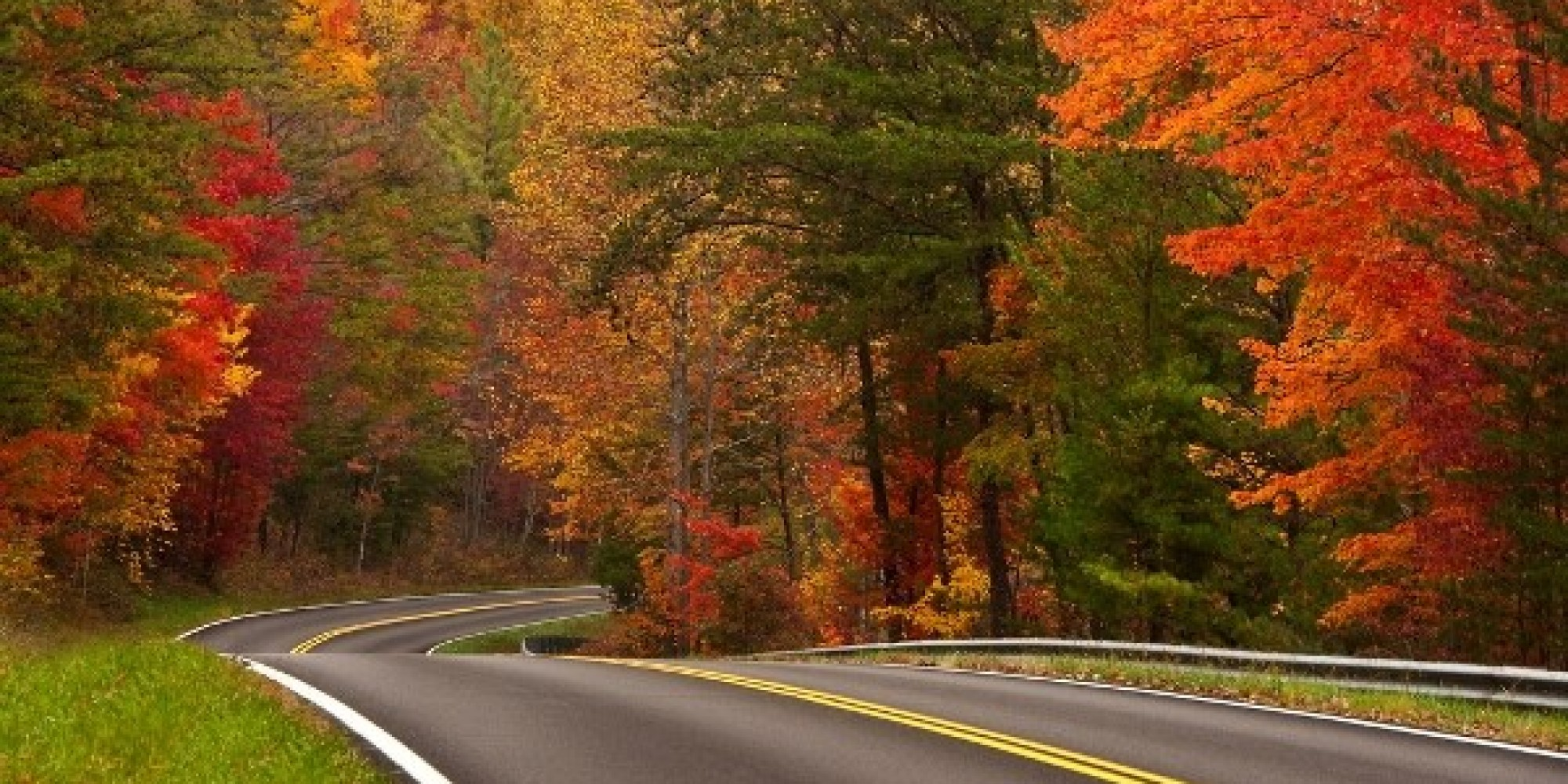 Fall Road Trips Infographic Huffpost