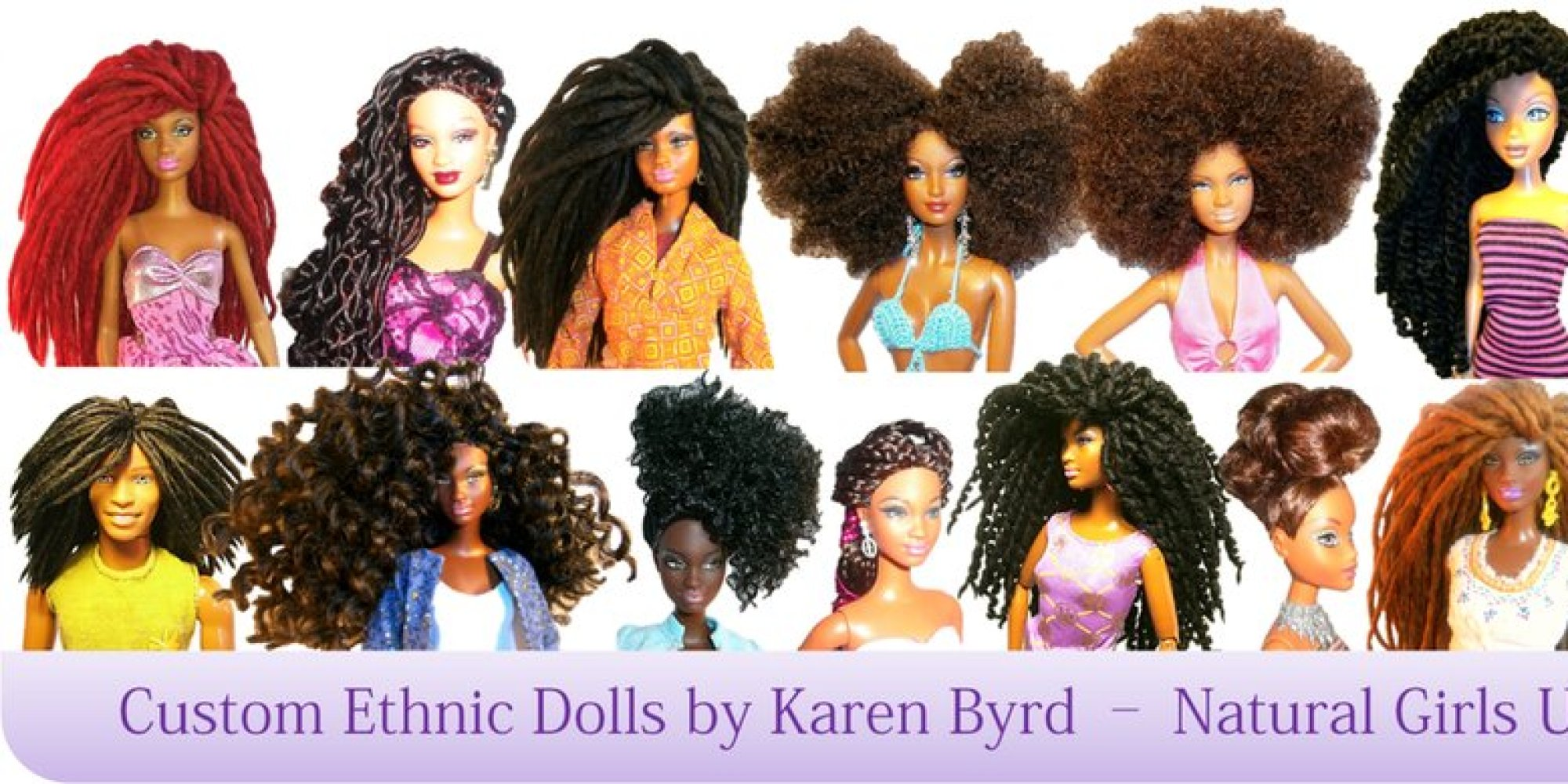 Natural Girls United Gives Dolls Amazing Hair Makeovers